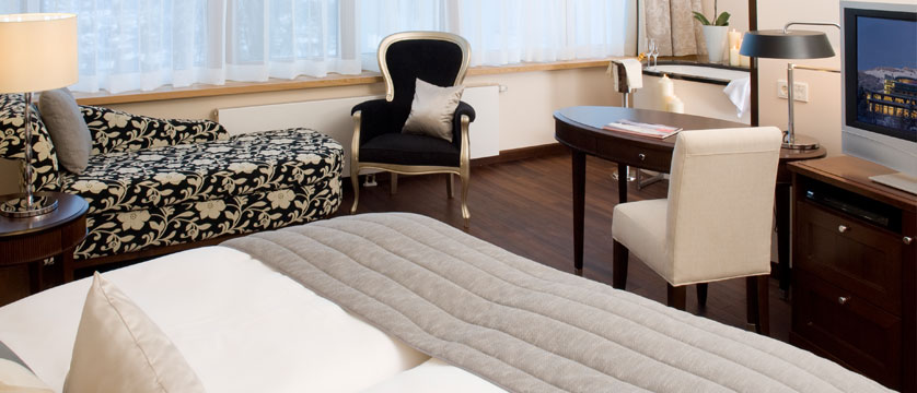 Hotel Schloss Lebenberg, Kitzbühel, Austria - Bedroom.jpg